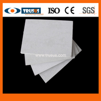 Moisture Resistant Fire Resistant Heat Thermal Insulation Materials High Strength 100% Non Asbestos Calcium Silicate Boards