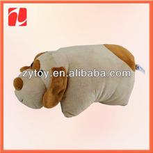 Baby Travel Plush Polar Fleece Pillow Animal Blanket