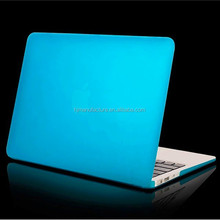Clear customize front and bottom case for MacBook Pro Air Retina 11 12 13 15 inch with logo hole cover