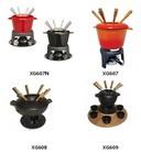 lfgb sgs fda certificação venda quente ferro fundido esmalte fondue