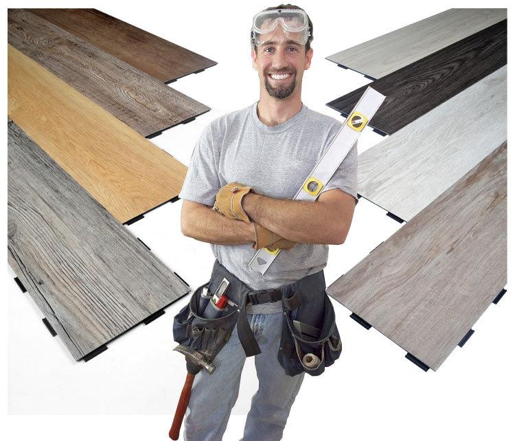 소음 감소 및 제거 UV 코팅 비닐 바닥 판자-플라스틱 바닥재 -상품 ...