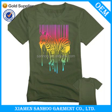 Sexy Woman Tshirt Slim Fitted Promotion Fashionable OEM Design
