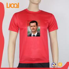 free size campaign customized plain t-shirt