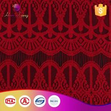 Reasonable Price Custom Color Embroidery Cotton Lace Curtain Fabric