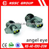 2014 NSSC Guangzhou factory DIY led angel eye 20w Cree led marker For E90 E91 with CE Rohs