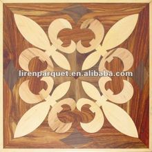Art parquet LIREN-502 solid wood flooring