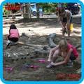 atrativo actividades educativas escavar fósseis de dinossauro