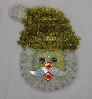 2013 Target Outdoor Christmas Decorations,Christmas Santa Claus Heads