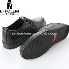 el último diseño suave de cuero auténtico de calzado causal 2014 para colección