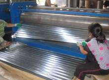 corrugated galvanized steel roofing sheet wave tile building material