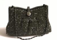high-end nail beads evening bag