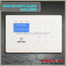 Wireless Intruder Security GSM Home Alarm System with APP control and alarm relay switch for house safety ,burglar alert