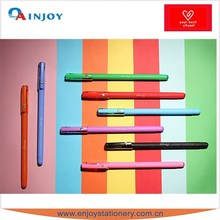 rainbow colour gel pen