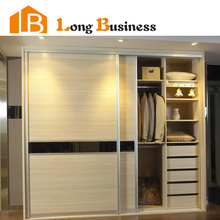 2015 HOT Selling New products made in China double color wardrobe design furniture bedroom