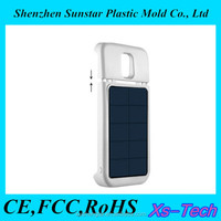 Detachable power bank mobile solar cell phone charger