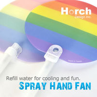 HOT sale! Custom water spray hand fan 2015 new gifts & crafts