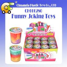 TPR joking toys plastic sticky toys prank toys noise putty crazy slime