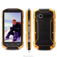 Outdoor waterproof 4g lte android dual sim cell phone rugged smartphone