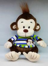 2016 New Year mascot plush stuffed animal keychain monkey / Plush monkey toy