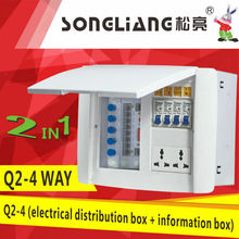 Q2-4 integrative box (electrical distribution box + information box)