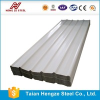 Hot Sale!RAL color Dx51D zinc coating Corrugated galvanized steel roofing sheet