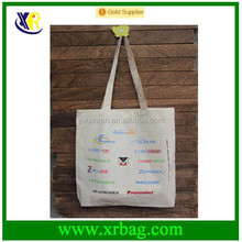 Fabric eco shopping canvas bag Promotional tote bag