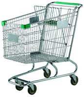 Best Selling 180L Supermarket Shopping Grocery Cart Trolley in Foshan China