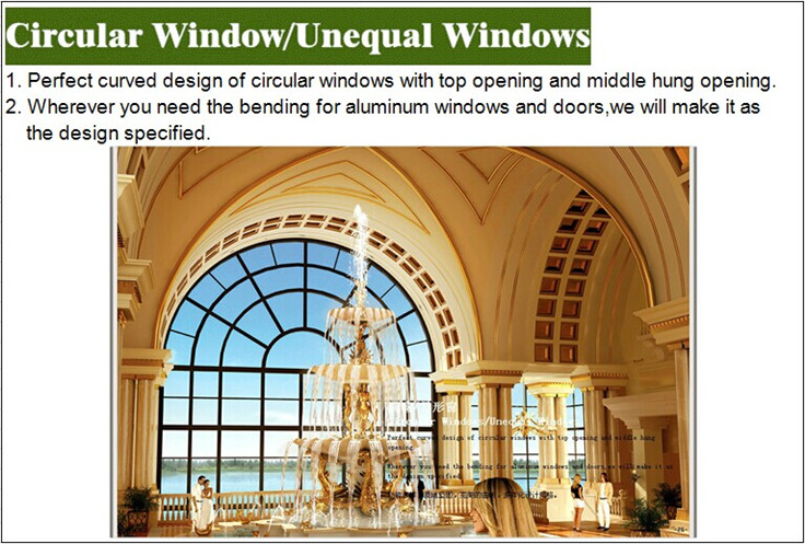 High Quality Custom Metal Security Round Window Frame,Half Circle ...