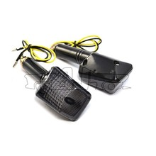 BJ-SL-044 New arrival E-marked black housing smoke lens 9 motorcycle LED