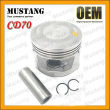 Motorcycle Engine Piston and Ring Kit for Honda CD70