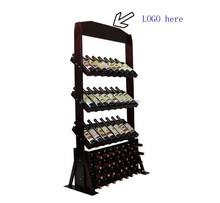 wood wine display shelf /stand/rack