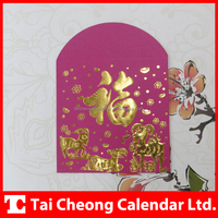 Wholesale Corporate Chinese New Year Paper Red Lucky Packets