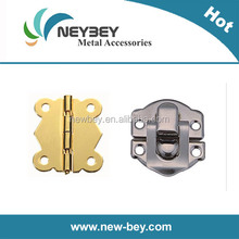 Small box hinges and latches for decorative wooden box BI301 and BL201