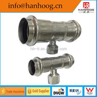 Durable Hot Sales Pipe Tee Joint Fitting For Pipe