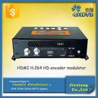 Home version hdmi to rf modulator dvb t encoder modulator