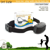 Electronic Vibrate Stimulus Pet Training Antibark Dog Collar for Sale