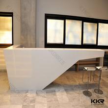 beauty salon reception desks / Artificial stone reception counter