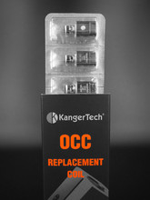 The Best Selling 0.5Ohm/1.2Ohm Kanger Subtank OCC Coil with Organic Cotton