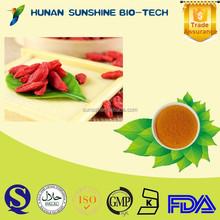 Herbal Medicine Extract Goji Berry Extract / Lycium Barbarum Polysaccharides Strengthen Liver & Kidney & Improve Eyesight