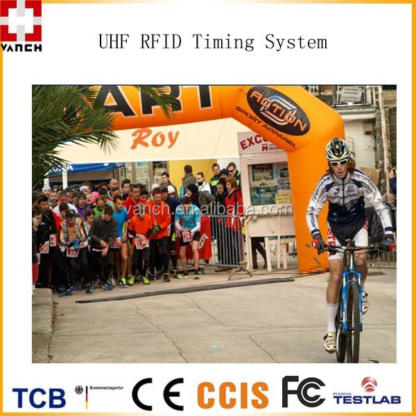 Complete Uhf Rfid Race Timing System Reader Antenna Mat