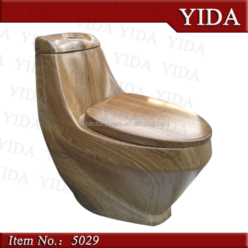 Farbige tiefspüler keramische toilette farbe braun toilette bad wc schüssel