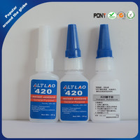 420 Ethyl Penetrating Grade 20g Clear Instant Cyanoacrylate Aadhesive Wholesale
