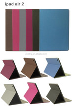 For Apple iPad Air 2 Case Luxury Genuine Leather Multi-Function Protective Leather Cover For iPad Air 2