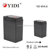 6v4.5ah mf vrla sla battery for solar system