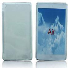 slim case !!transparent claer tpu case for apple ipad air ipad 5