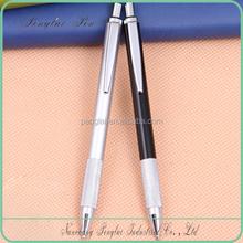 Custom logo advertising metal click mechanism pen