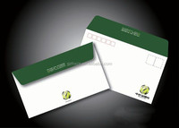 OEM custom company letter paper envelope printing with your design