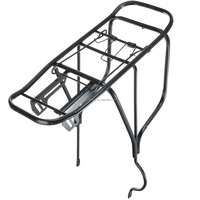 New Arrival Aluminum Alloy Material Mountain Bike Rear Rack Quick Removal Installation Bicycle Back Seat Seatpost