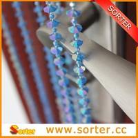 abacus beads plastic ball chain curtain,fashional plastic bead curtain