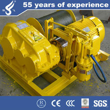 Widely promotion JM JK type wire rope portable small electric winch with wireless remote control